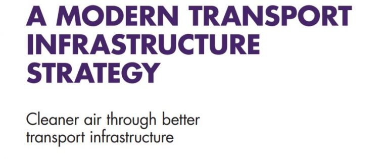A Modern Transport Infrastructure Strategy