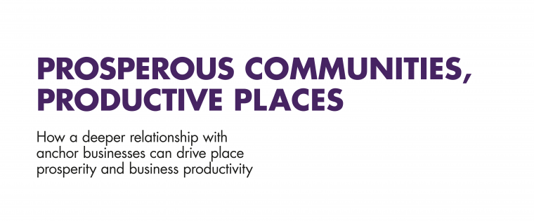Prosperous Communities, Productive Places